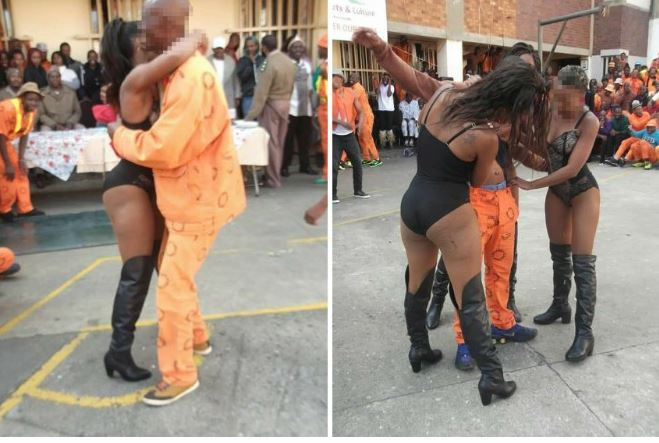 You haven't truly partied until you've been to prison in South Africa