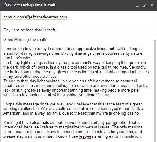 warren email