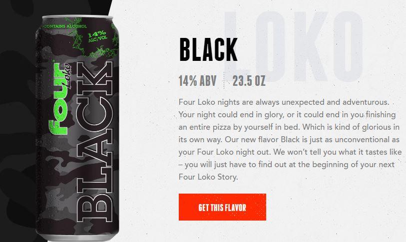 four loko black