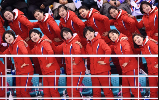 These North Korean cheerleaders are the definition of bad bitches